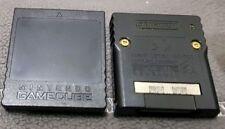 2x ORIGINALE NINTENDO MEMORY CARD 251 blocchi-dol-014 Scheda di memoria GameCube