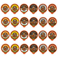 Crazy Cups Decaf Flavored Coffee Lovers Variety Pack, 24 Count