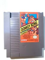 Donkey Kong Classics ORIGINAL Nintendo NES Game Authentic Tested + Working!
