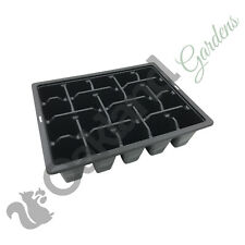 25 x 20 Cell Bedding Packs Tray Plant Plug Inserts Seed Trays Professional