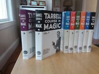 NEW TARBELL COMPLETE COURSE IN MAGIC 1-8 Book Set (8th Printing - 1996)