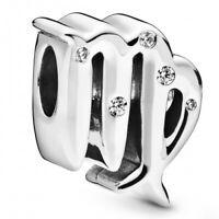 Virgo Zodiac Jungfrau PANDORA Sternzeichen Charm 925er Sterlingsilber 798417C01