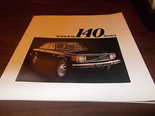 1973 Volvo 140 Series Deluxe 12-page Sales Catalog