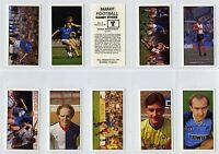 Full Set, Barratt, Bassett, Football 1985-86 EX (Gt955-439)