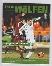 Orig.PRG   Europa League 2009/10  VfL WOLFSBURG - RUBIN KAZAN  1/8 FINALE  !!