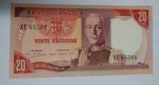 1972 Angola 20 Escudos Banknote (#FP-48)