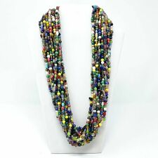 "27"" Assorted Glass Bead Necklace (Dozen)"