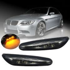 Side Marker Light Turn Signal Amber LED For BMW E60 E61 E82 E88 E90 E91 E92 E93