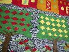 "Vintage Hand Made OMANI Wool RUG Carpet PICTORIAL Fringe Oman ISLAM 24"" x 26"""