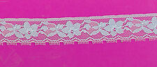 6m x 25mm Lovely PALE BLUE LACE ,Scrapbook,Cards Sewing, Craft, dress.lingeria