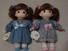 Precious Moments Sara and Kara Twins 12 in. Dolls Original