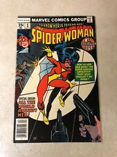 Spider-woman #1 origin 1ST SERIES 1978 1st Print FEAR HER Infantino New Mask VF+