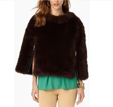 Juicy Couture Women s Jacket Anna Luxurious Faux Fur Cape Size Small NWT   398 b647a837e