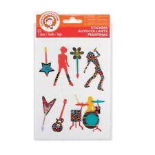 LittleMissMatched Rock 'n Roll Puffy Stickers