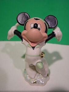 LENOX Disney PETER PAN MICKEY sculpture NEW in BOX w/COA
