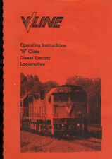V/LINE N CLASS OPERATING INSTRUCTIONS