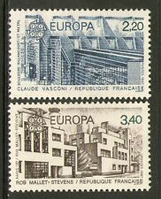 TIMBRES N° 2471-2472 NEUF XX LUXE - ARCHITECTURE MODERNE