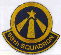 Space: Above & Beyond 58th Squadron Embroidered Iron-On Patch