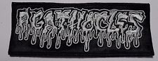 agathocles white logo     EMBROIDERED  PATCH