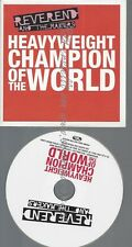 PROMO CD--REVEREND AND THE MAKERS---HEAVYWEIGHT CHAMPION OF THE WORLD--3TR