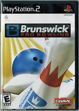 Brunswick Pro Bowling (Sony PlayStation 2, 2007) Factory Sealed
