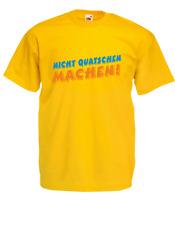Hombre Camiseta T-Shirt No Quatschen Hacer ! hasta 5XL