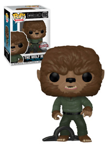 Funko POP! Universal Monsters #1153 The Wolf Man - New, Mint Condition