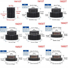 Engranaje engranajes con 12-127 dientes engranaje recto módulo 1,5 acero c45
