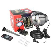 Snow Flower Projector Lamp Snowfall Holiday Light G30