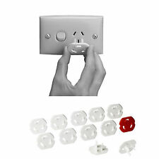 NEW 12x IKEA Baby Safety Power Board Socket Outlet Point Plug Protective Covers