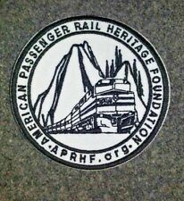 """American Passenger Rail Heritage Foundation 3"""" Embroidered Patch"""