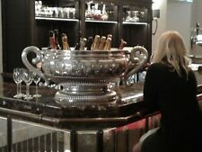 INCREDIBLY MASSIVE solid sterling silver Bowl / wine cistern OVER 15 KG !!