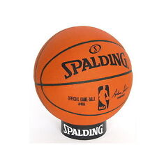 Spalding 74-569Z NBA Official Game Ball Leather BasketBall Sport Outdoor M_o