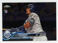 2018 Topps Chrome Update WILLY ADAMES Logo Rookie Card RC #HMT56 Tampa Bay Rays