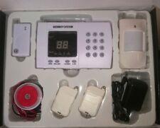 kit allarme senza fili 9 zone, avviso su cellulare, per linea telefonica di casa