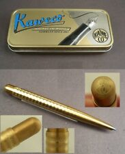 Kaweco Liliput Brass Wave Kugelschreiber aus Messing #