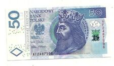 Polonia  50 zlotych 2012    FDS UNC    pick new    lotto 3917