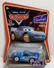 BLING BLING LIGHTNING MCQUEEN DINOCO DISNEY CARS SUPERCHARGED DIE-CAST MOSC RARE