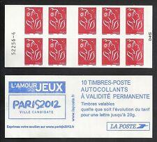 Carnet 3744 c1 Marianne de Lamouche décalage couleur