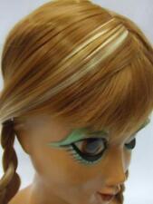 Anna FROZEN parrucca ~ ~ ~ dimensioni per bambini di qualità professionale ~ pantomima ~ Cosplay