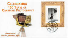 Ca17-025, 2017, 150 years of Canadian Photography, Gilbert Duclos, Day of Issue,