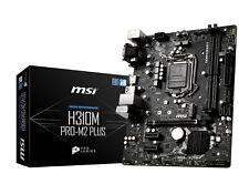 MSI H310M PRO-M2 PLUS LGA1151 Intel H310 SATAIII USB3.0 Micro-ATX Motherboard