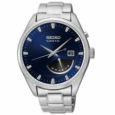 Seiko Gents Kinetic Dress Retrograde Calendar Watch   SRN047P1-NEW