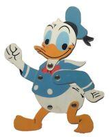 Vintage Disney Donald  Duck Jointed Plastic Flat (Durham Industries #1501)