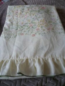 Vintage Dorma Country Diary Wild Flowers Single Duvet Cover