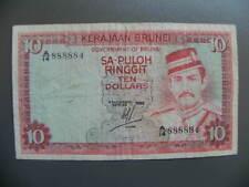 Brunei 10 Ringgit 1983