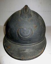 Coque de casque Adrian Zouave, Spahi, Tirailleur, modèle 1915, bleu horizon.