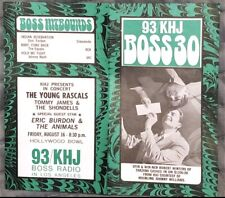 KHJ 93 Boss 30 Radio Survey - No. 162 - August 7, 1968