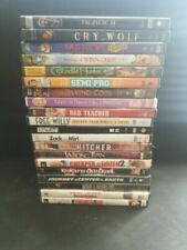 LOT OF 64 ASSORTED DVDs