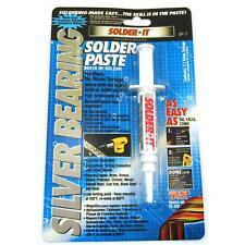 Solder-It SP-7 Silver Bearing Solder Paste Syringe 7.1 Grams, Flux Blended In